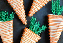 carrot-shaped desserts