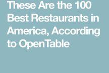 Restaurant Hit List