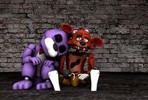 Bonnie and Foxy