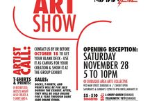 The Dark Slide 2015 Skate Art Show / The Dark Slide 2015 Skate Art Show.  Pictures, photos, and posters for The Dark Slide 2015 Skate Art Show at Dubuque Area Arts Collective 902 Main St Dubuque, IA.  Opening is November 28th 5-10pm.