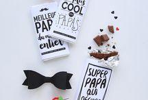 DIY fête des pères / idées cadeaux pour les papas à faire soi-même ou avec les enfants