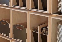 get organized / by Kathryn Prideaux