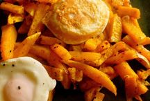 Posiłki - warzywne frytki
