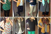 Teacher Fashion / Affordable outfit ideas for the busy teacher.