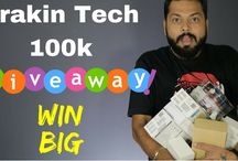 videos Trakin Tech 100k Subscriber GIVEAWAY! Win Big! https://youtu.be/bknuvkphfVY