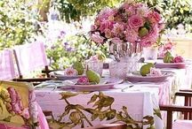 tablescapes spring