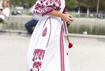 Folk Embroidery / Floral, folk, hippy ethnic embroidery styles