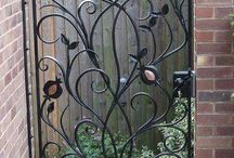 puertas diseños en fierro