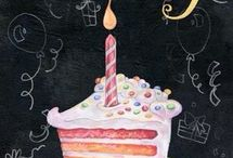 Cartões de feliz aniversário