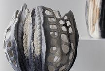 objekty textil keramika