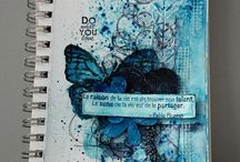 Wyzwanie: Art journal - forma dowolna | Challenge: Art journal - feel free with your soul / Wyzwanie: Art journal - forma dowolna | Challenge: Art journal - feel free with your soul
