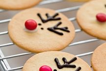 "Christmas Cookies / ""Christmas cookies and happy hearts, this is how the holiday starts.""  ~ Unknown"
