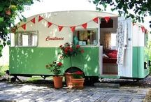 vintage campers / by Laura Gabell