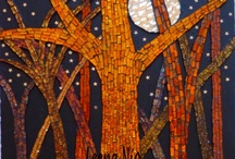 mosaic trees / by Susie Booth