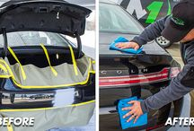 Before & After / See for yourself the magic that we can work on your vehicle's exterior or interior!