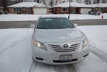 Used 2009 Toyota Camry  for Sale ($14,595) at Mayfield Village, Ohio / Make:  Toyota, Model:  Camry, Year:  2009, Exterior Color: Silver, Interior Color: Gray, Doors: Four Door, Vehicle Condition: Good , Mileage:20,626 mi,  Engine: 4 Cylinder, Fuel: Gasoline, Transmission: Automatic, Drivetrain: 2 wheel drive.   Contact; 216-990-5214   Car Id (56725)