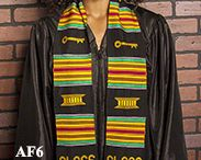 African Kente Stoles / Each color and fabric has a rich and associated meaning, as each color and pattern possesses a significant motif. After several centuries, weaving still remains an art form inspired by nature, reflecting some of the most vibrant and ancient craft traditions in the world. More important, we work directly with all our manufacturers to ensure that you receive a high-quality product, and that the artisans are fairly compensated for their efforts.