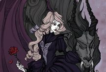IrenHorrors and Abigail Larson's art art art / I just realized some of them does not belong to IrenHorrors but beautiful art so~