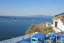 Skopelos / Skopelos is a spectacular, peaceful island in the western Aegean Sea