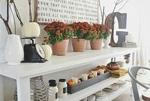 Dressers & Side table decor & Furniture / by Michelle Saffeels