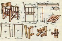 Мебель стул складной