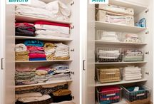 Linen cupboard / Storage ideas