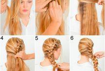 Penteados/ coiffures