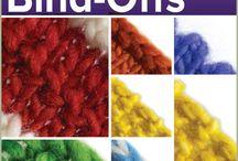 Knitting: Cast Off/Bind-Offs