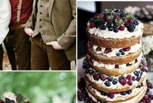 Winter wedding color palettes