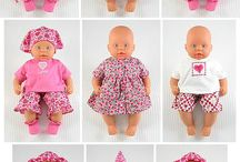 Dolls cloths