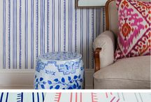 Gimme that Ikat! / Ikat prints across interiors and fashion.