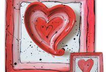 Valentine pottery painting ideas