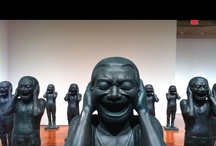Ai Weiwei, 1957 / Born in Beijing is China´s most famous modern artist. He is an activist, architect, curator and filmmaker. He was in jail in 2011 for his criticism of the Chinese government. His father was the Chinese poet Ai Qing. From 1981- 1993,  he lived in U.S, mostly NY. He studied at the Art Students League. In 1993 Ai returned to China After his father became ill. He collaborated with swiss architects Herrog & de Meuron as artist consultant in the Beijing National Stadium (Nest) for the 2008 Olympics.