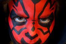 Star Wars face paint