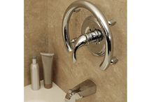 Bathroom Accessories / Soap Dishes, Toilet Paper Holders, Towel Bars, and general Bathroom Accessories for accessible and standard bathrooms.