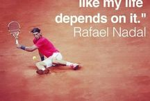 RAFA / The greatest tennis fighter of all time