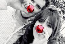 fotos navideñas pareja
