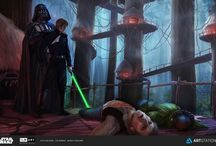 Star Wars / Pasta sobre o universo Star Wars. Trailers, resenhas, ilustrações, vídeo