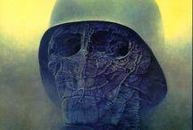 Zdzislaw Beksinski Art / Work of Zdzislaw Beksinski that i like, mostly paintings