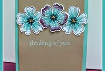 Card ideas and Stampin up ideas