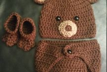 Baby clothes knit n crochet