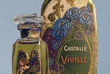 vintage perfume cosmetic
