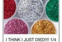 Eetbare glitter maken
