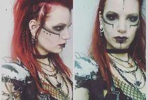 Postapocaliptic, cyberpunk