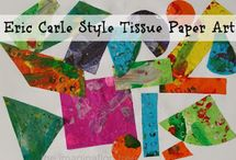 PreK Theme Eric Carle / by Brandy Purdue