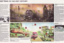 Futureopolis - the shape of cities to come, but from the past. / Futurist design scifi artist impressions