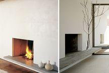 Värme / Uppvärmning av bostäder. Kaminer, element, radiatorer, öppna spisar mm.