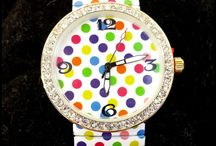 Watches / Fun funky watches available at ladedatoo.com