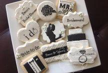 Icing cookies wedding / アイシングクッキー結婚