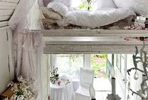 Home inspiration / Home inspiration, shabby chic, retro, interesting decorations, my dreams